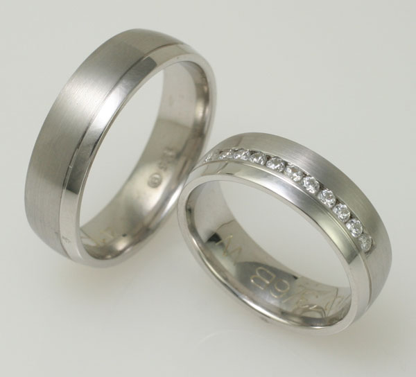 click to see more images - Wedding Band Rings